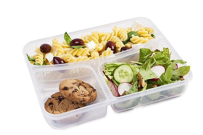 Elegante y asombrosa caja de almuerzos a Prueba de fugas- tamaño ...