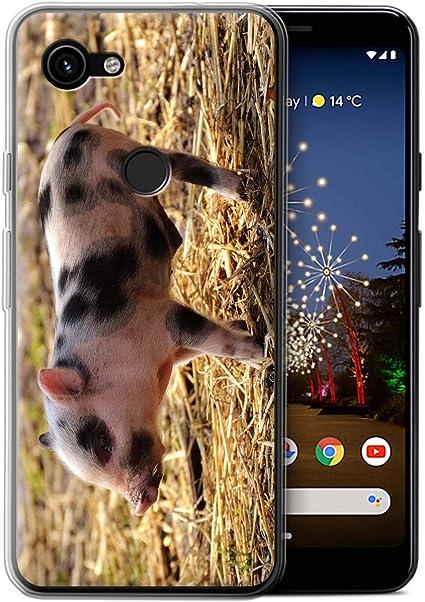 Coque Pour Google Pixel 3a Xl Animaux Mignons Porcinet