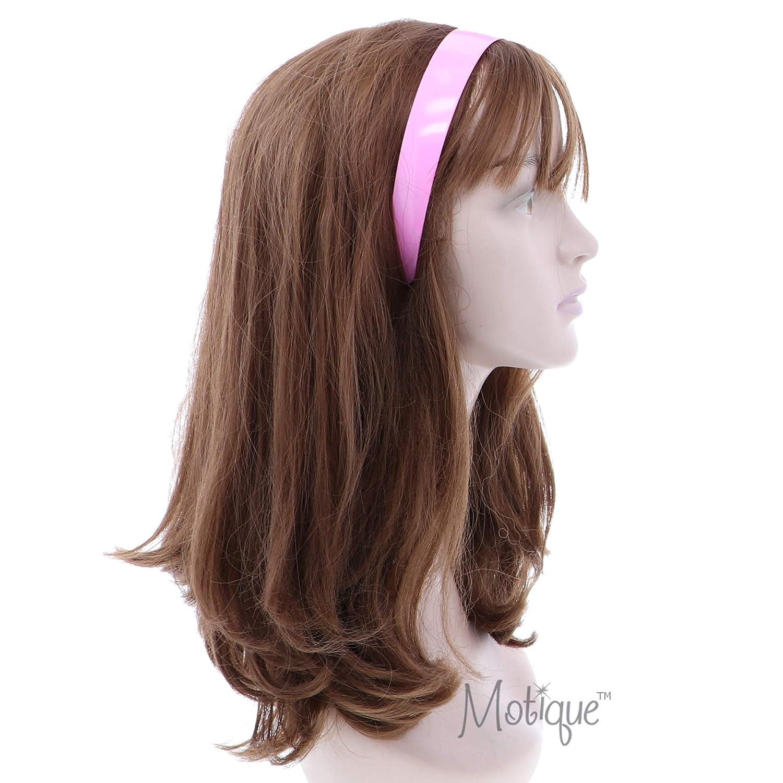 Yellow 1 Inch Plastic Hard Headband with Teeth Head band Women Girls Motique Accessories