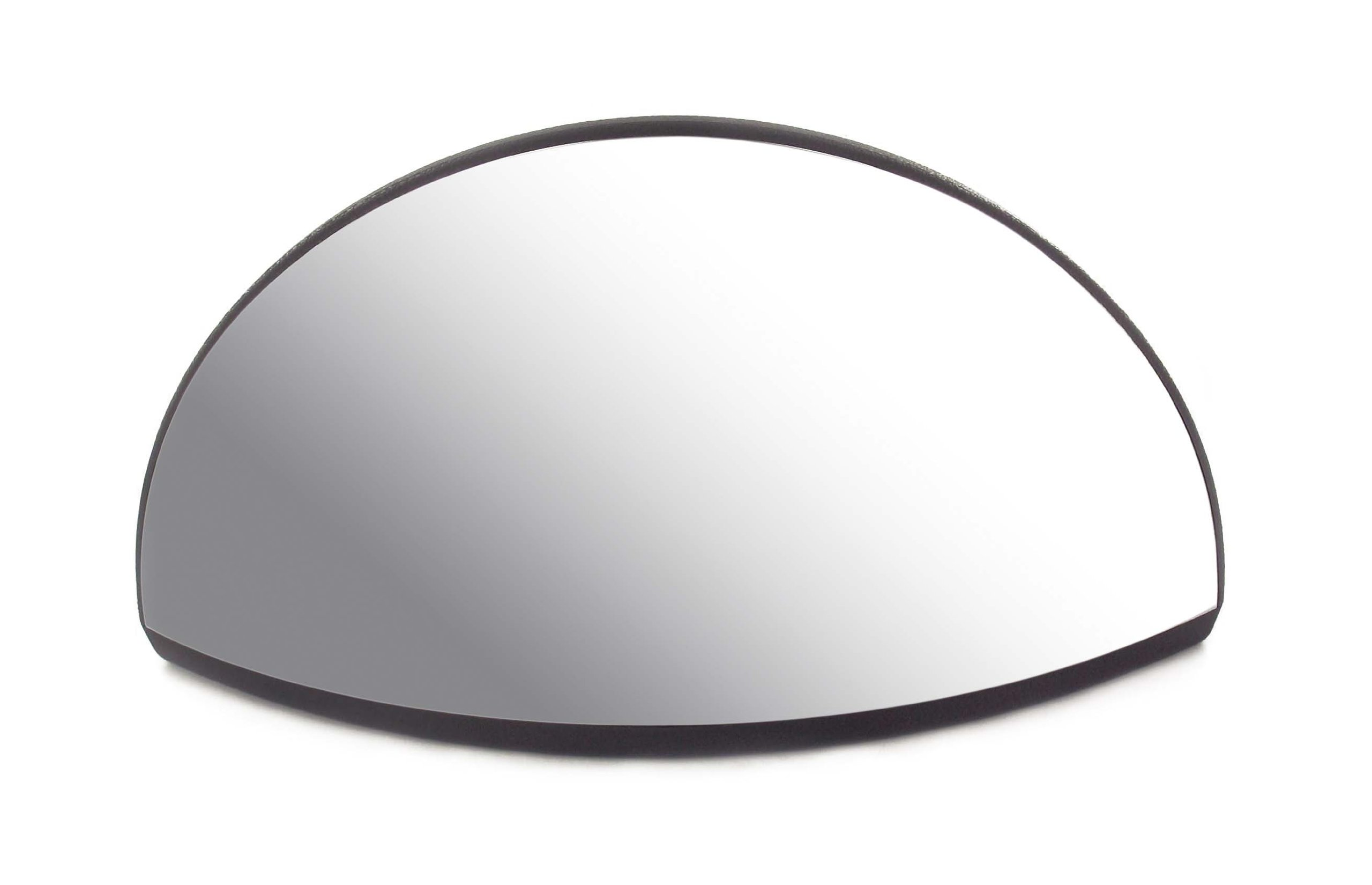 Forklift Panoramic Polycarbonate Mirror with Mounting Bracket, 247mm Width x 130 mm Height x 44mm Depth