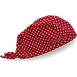 Playshoes Mädchen Mütze Kopftuch, Bademütze Punkte mit UV-Schutz