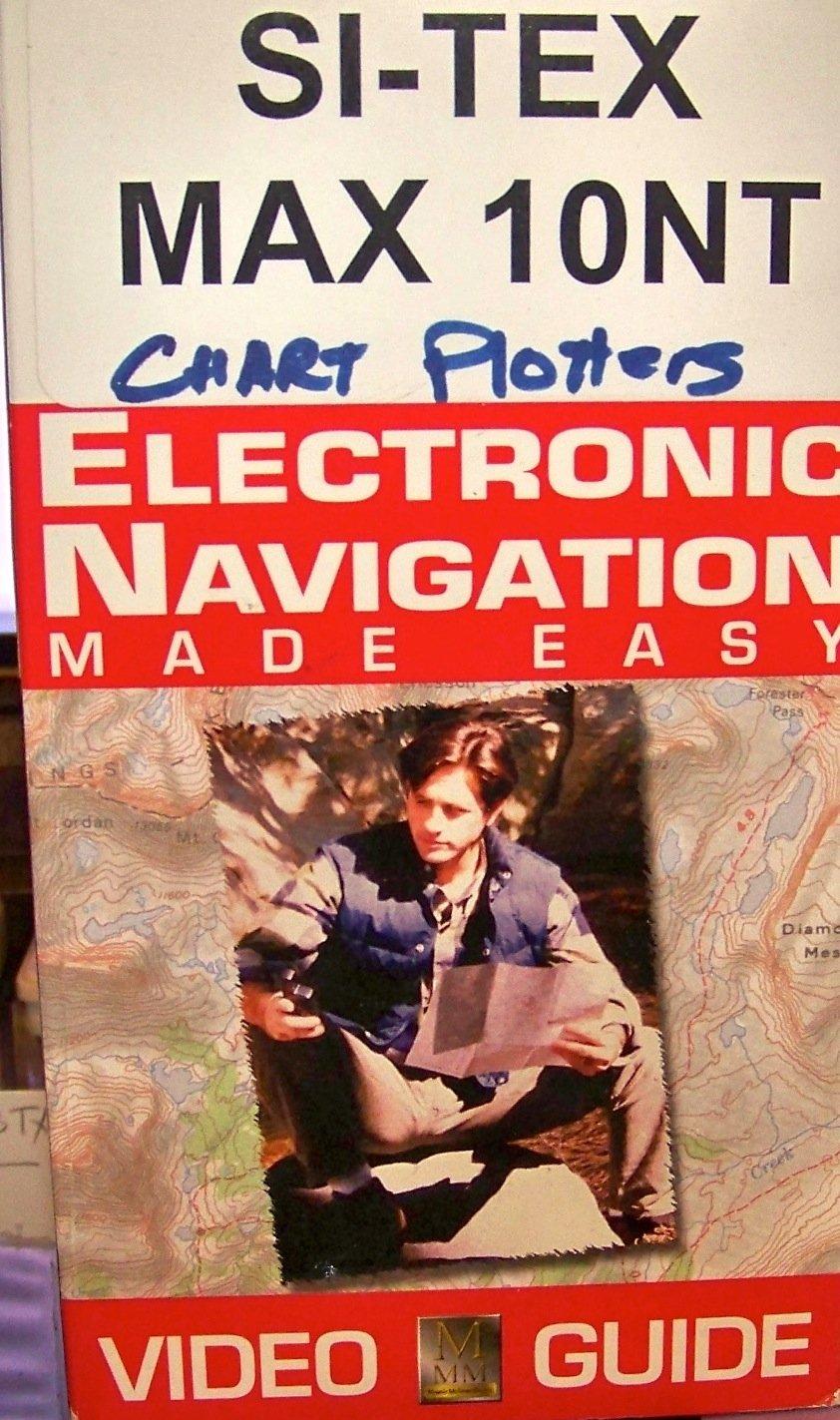 Si-Tex Max 10nt Chart Plotter [VHS] by Bennett Marine
