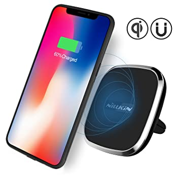 Nillkin [Upgraded] iPhone X inalámbrico Coche Cargador de ...