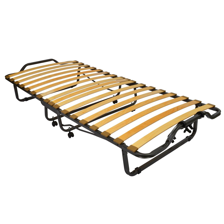 Beautissu® Cómoda cama para invitados - cama plegable - Monaco - 90 ...