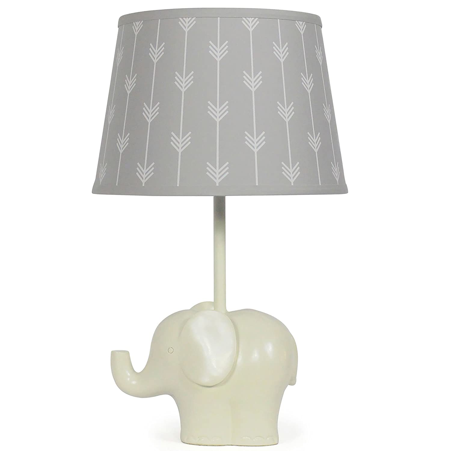 Gray Elephant Lamp Shade