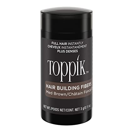 Amazon.com: Fibras de construcción de pelo TOPPIK: Luxury Beauty