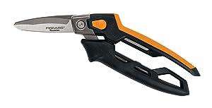 Fiskars PowerArc Utility Snips (8 Inch)