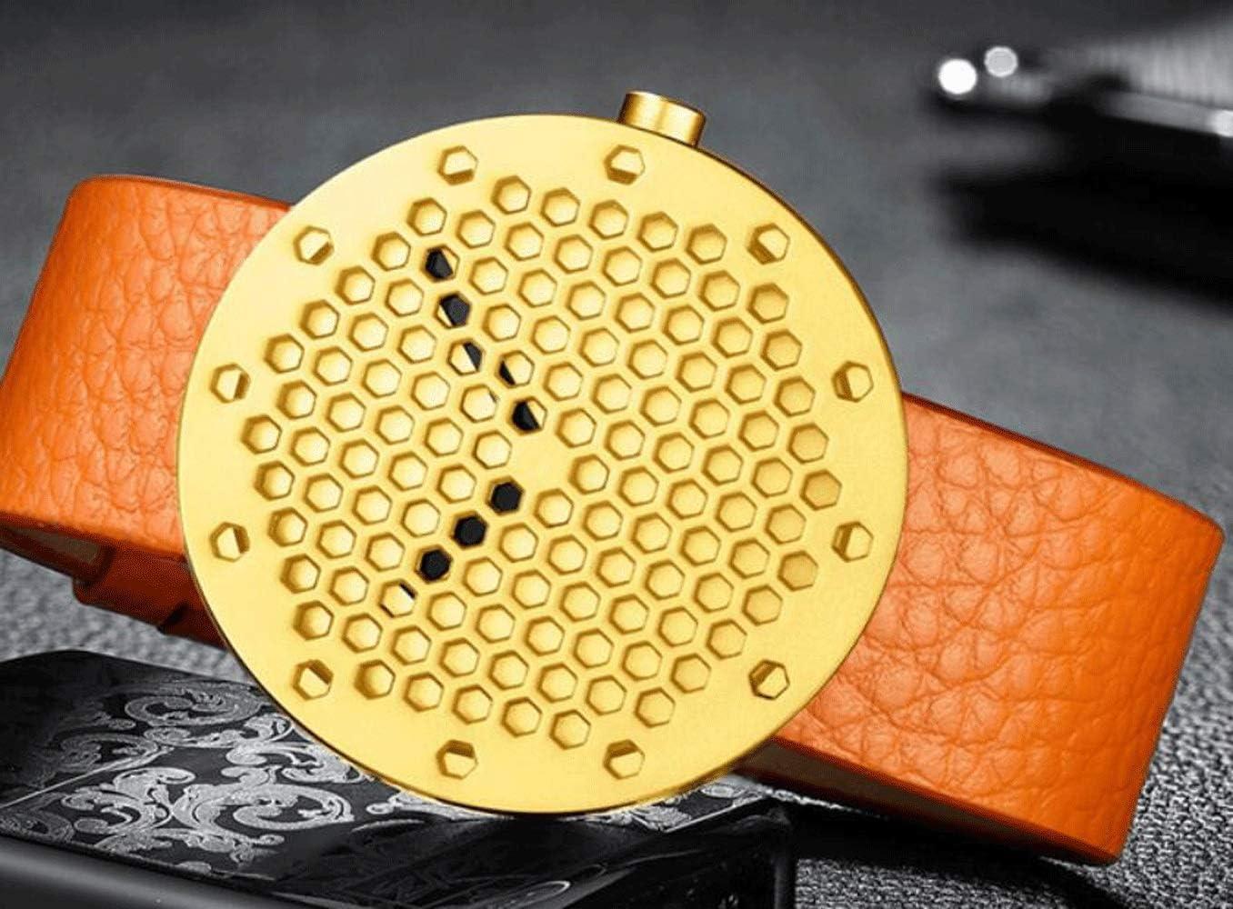 YANGFH Montre for Homme Automatique en Acier Inoxydable étanche à l'eau de Sport de Loisirs de Plein air Une variété de Couleurs Montre Intelligente (Color : D) A