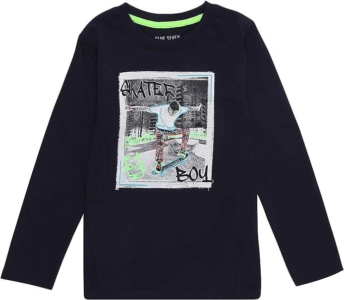Jungen Sweatshirt Pullover Blue Seven Gr 98-110 NEU