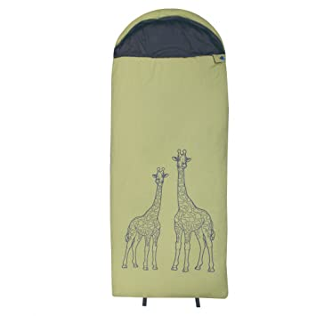 10T Outdoor Equipment 10T Giraffe Saco de Dormir de Manta, Verde, Estándar: Amazon.es: Deportes y aire libre