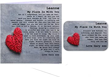 Personalised Me To You Heart Candle Valentines Day or Birthday Gift Idea