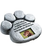 Paw Print Pet Memorial Stone by Collections Etc