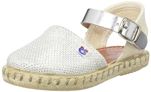 Conguitos HVS14502, Alpargatas Bebé-para Niñas, Blanco (White), 25 EU: Amazon.es: Zapatos y complementos