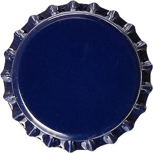 Blue Beer Bottle Crown Caps for Homebrew, Oxygen Absorbing (144 Count)