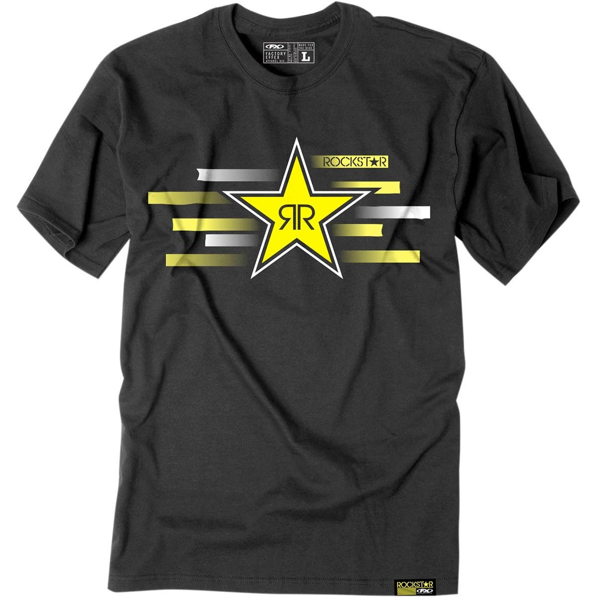 Black, Medium Factory Effex Rockstar T-Shirt 18-87602