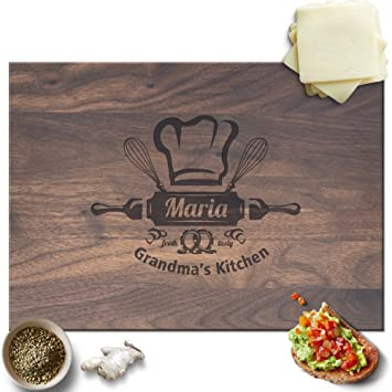 froolu grandmas kitchen personalized cheese board for grandmother christmas gifts