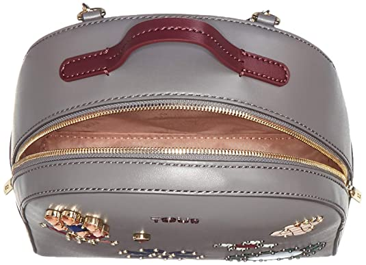 Amazon.com: Tous Mochila Teatime Jewel, Womens Backpack Handbag, Multicolour (Gris/Vino): Shoes
