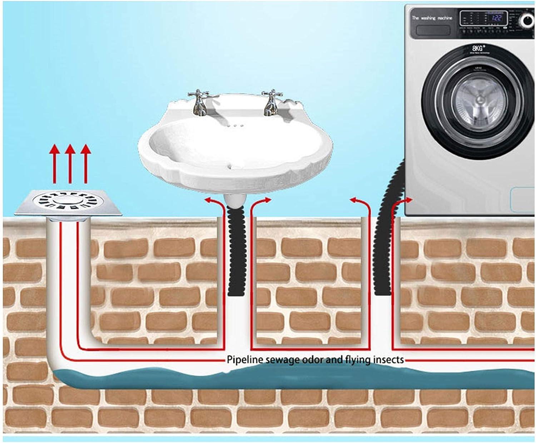 KSTYLE Badezimmer Geruchsneutral undicht Kern Silikon Down The Water Pipe Draininner Core K/üche Bad Kanalisation Dichtung Leck