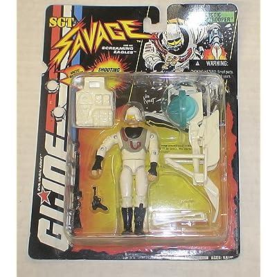 G.I. Joe: Sgt. Savage Arctic Stormtrooper Action Figure: Toys & Games
