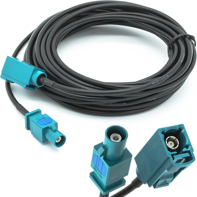 Adaptador de Universe 5 m Alargador Fakra (M) a conector Fakra (F ...