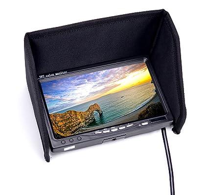 Amazon RC FPV Monitor 7 Inch 1024x600 LCD Display Video Screen