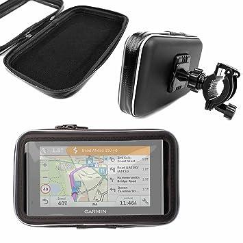 DURAGADGET Montaje Giratorio para Bici De Montaña Y Funda para GPS Garmin Drive 50 EU LMT
