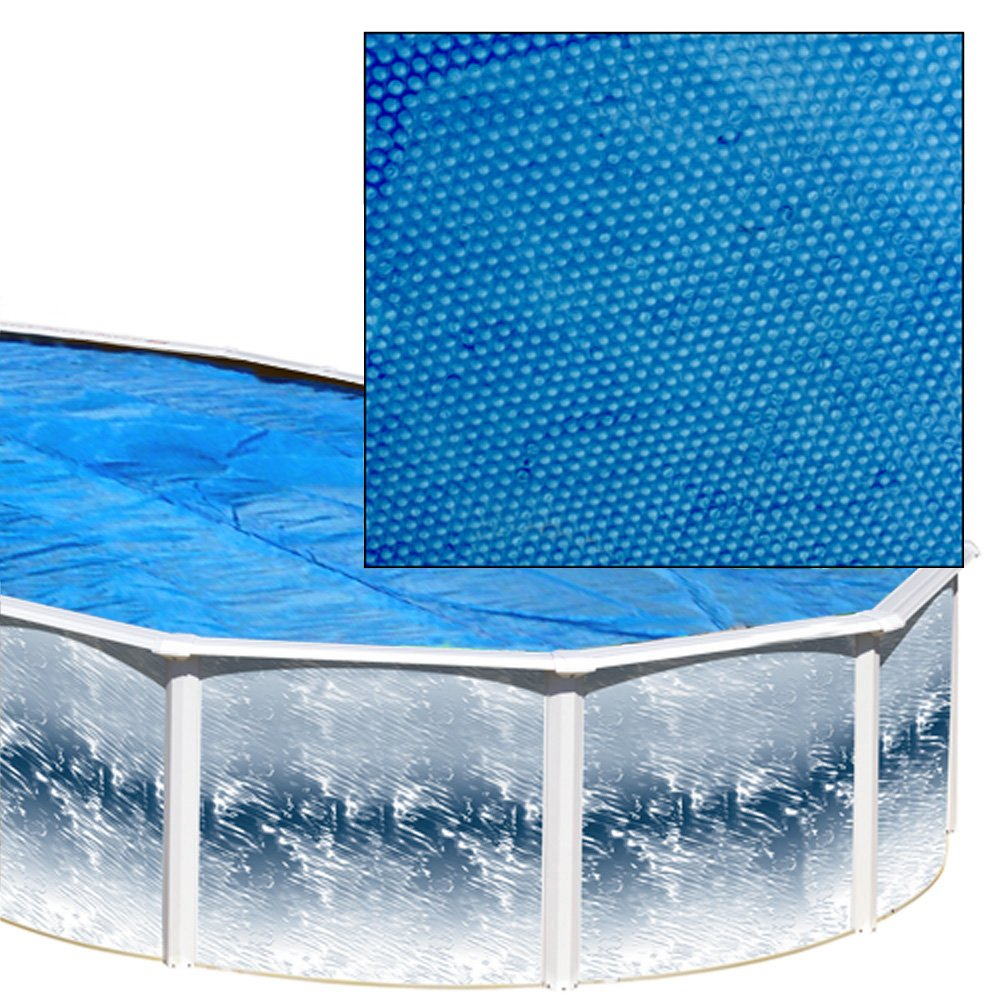 Splash Pools Oval Solar Cover, 33-Feet by 18-Feet