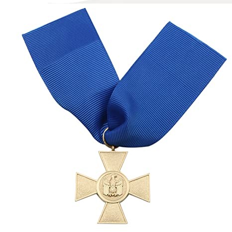 b845879c31f Amazon.com   Heerpoint 1957 Veterans Version Reproduction WW2 German Heer  25 Year Service Medal with Ribbon Wehrmacht long-Service Award   Office  Products