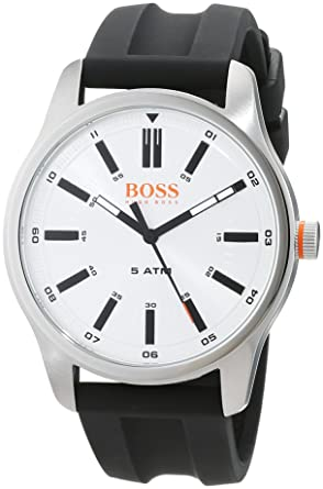 d53c986f8edb Hugo Boss Orange Reloj Análogo clásico para Hombre de Cuarzo con Correa en  Cuero 1550043  Amazon.es  Relojes