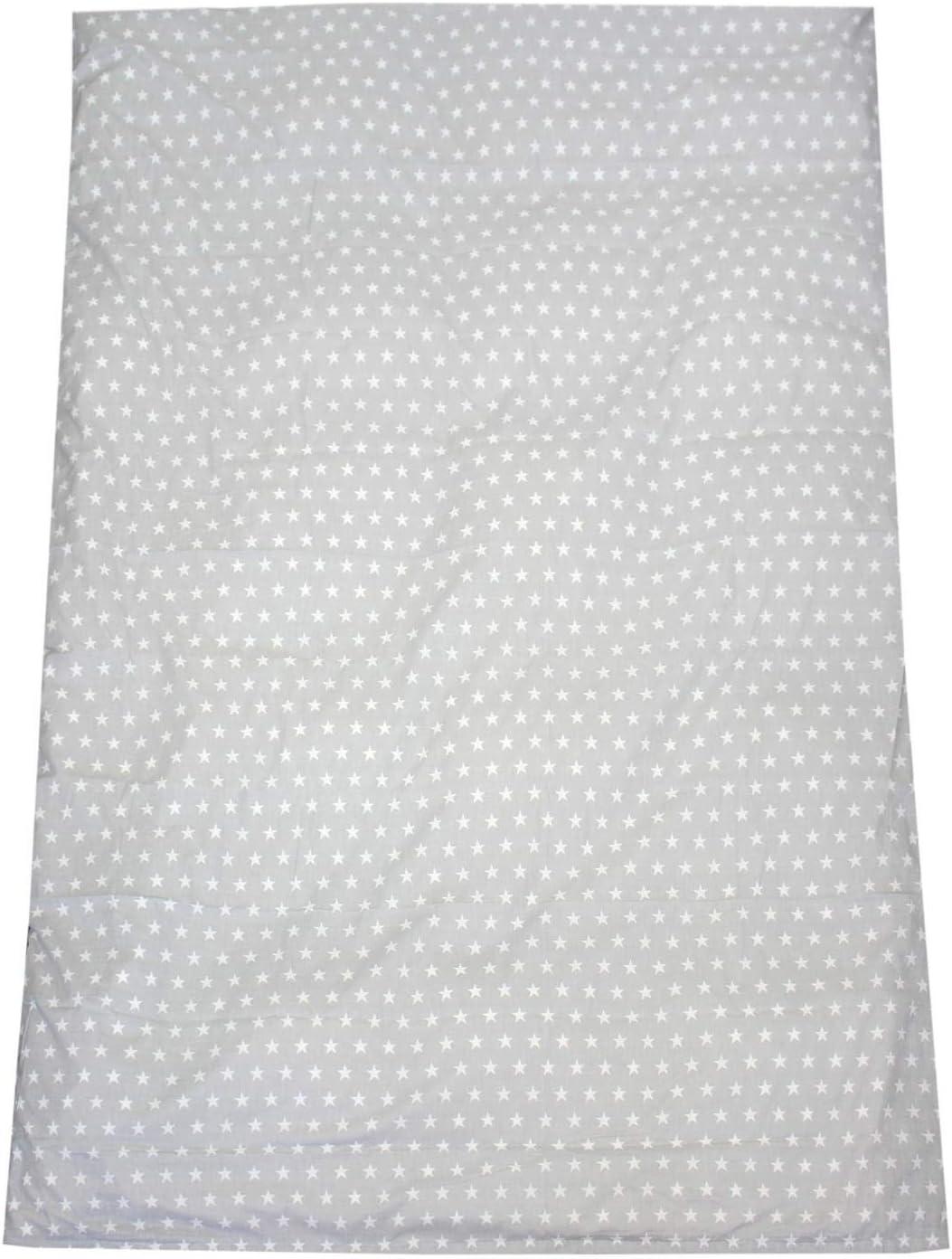 TupTam Childrens Pillow Case with Decorative Patterns Drops Turquoise 30 x 50 cm