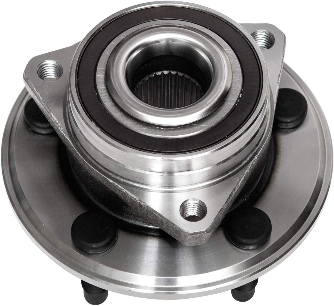 TUCAREST 513288 x2 Pair Front Wheel Bearing and Hub Assembly Compatible With Buick LaCrosse Regal Cadillac CTS XTS Chevrolet Equinox Impala Malibu Limited GMC Terrain Saab 9-5 5 Lug