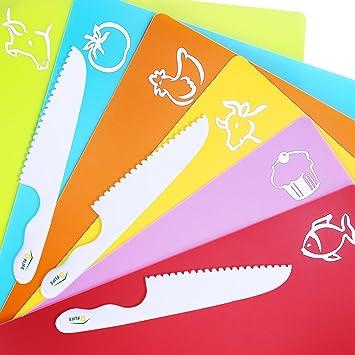 Premium tabla de cortar de plástico para niños por d-flife ...