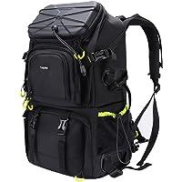 """Endurax Kamerarucksack Gross mit Laptopfach 15,6"""" für 2 DSLR 4 Objektive mit Regenschutzhülle und Stativhalterung gut für Tekking Wander Outdoor"""