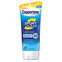 Coppertone Spf#30 Sport Clear Sunscreen 5 Ounce Tube (148ml) (2 Pack)