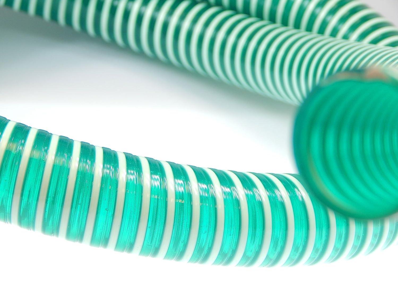 Saugschlauch Spiralschlauch grü n (Meterware) 45mm Schlauch24