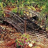 Chestwick Metal Garden Bridge-4'
