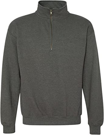 Fashion Gildan 18800 Adult Heavy BlendVintage 1//4-Zip Cadet Collar Sweatshirt