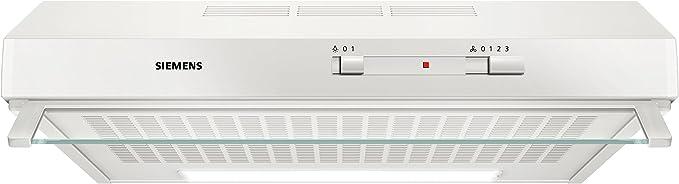 Siemens iQ100 LU62LFA20 Telescópica o extraplana Blanco 230m³/h D ...