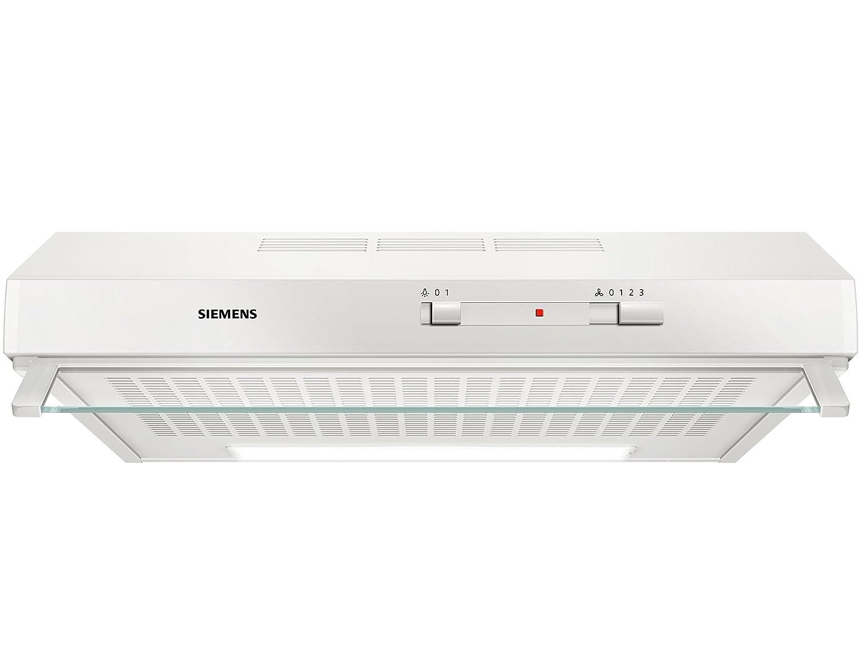 Siemens LU62LFA20 iQ100 Unterbauhaube / D / 60 cm / weiß [Energieklasse D]