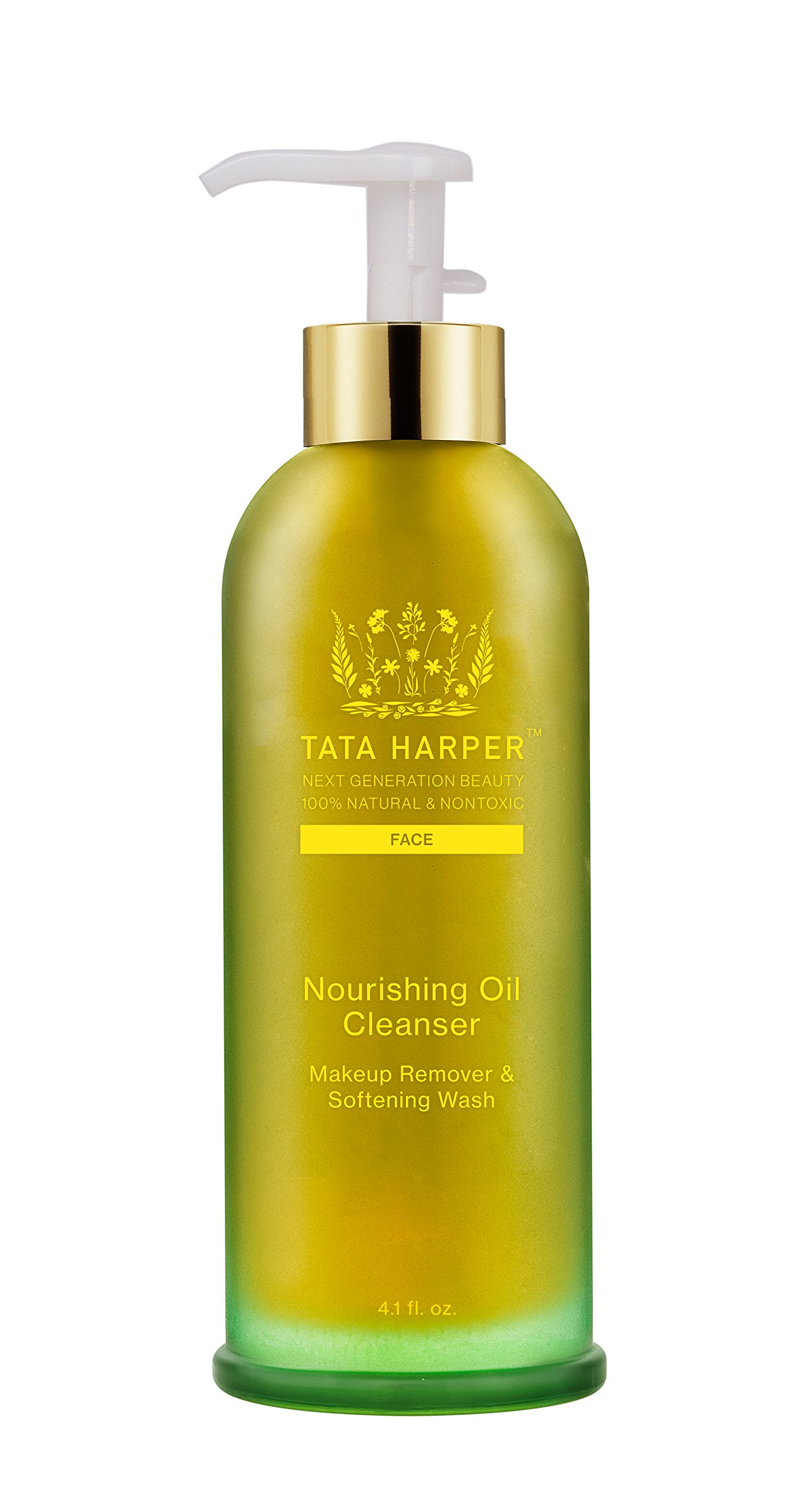 Tata Harper Nourishing Oil Cleanser | 100% Natural & Non Toxic | Silky, Multi-Vitamin Cleansing Oil & Makeup Remover | 125ml