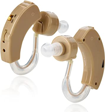 Amplificador auditivo de sonido BTE (detrás de la oreja) tamaño ...