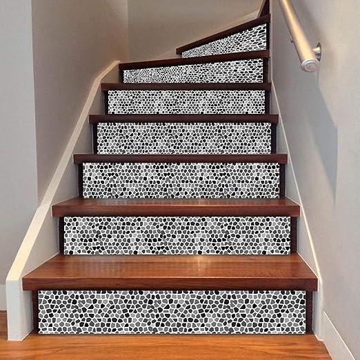 3D Azulejos de Estilo árabe Escalera Risers Condecoración Foto Mural Vinilo Calcomanía Murales De Papel Tapiz Papel Tapiz Mural (6pcs* 100cm*18cm): Amazon.es: Hogar