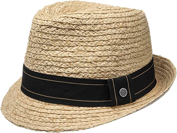 BUGATTI Cappello di Paglia Calu Trilby Estivo da Sole