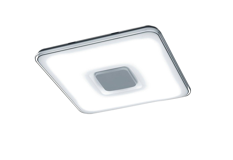 Trio Kyoto - Plafón con LED SMD integrado de 50W. Con mando a distancia,