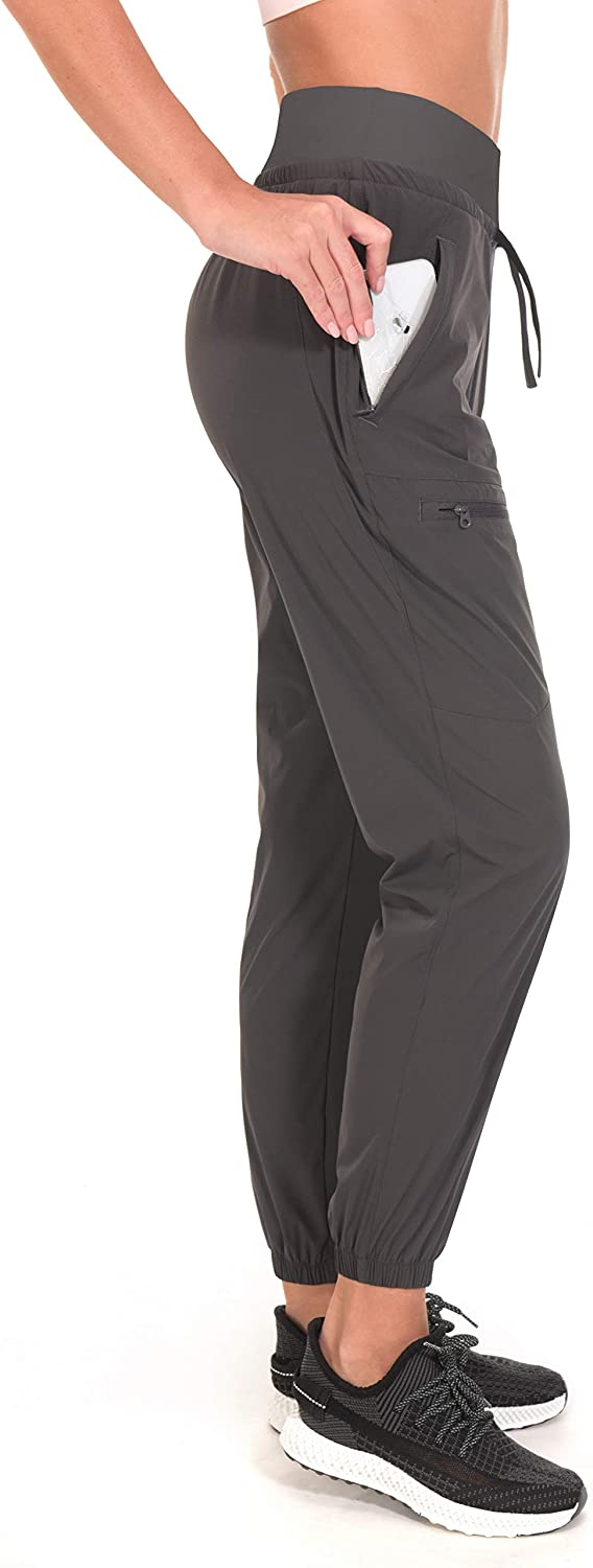 Protection RUFIYO Womens Cargo Hiking Pants Outdoor Workout Capris Athletic Jogger Pants Lightweight and Quick Dry UPF 50