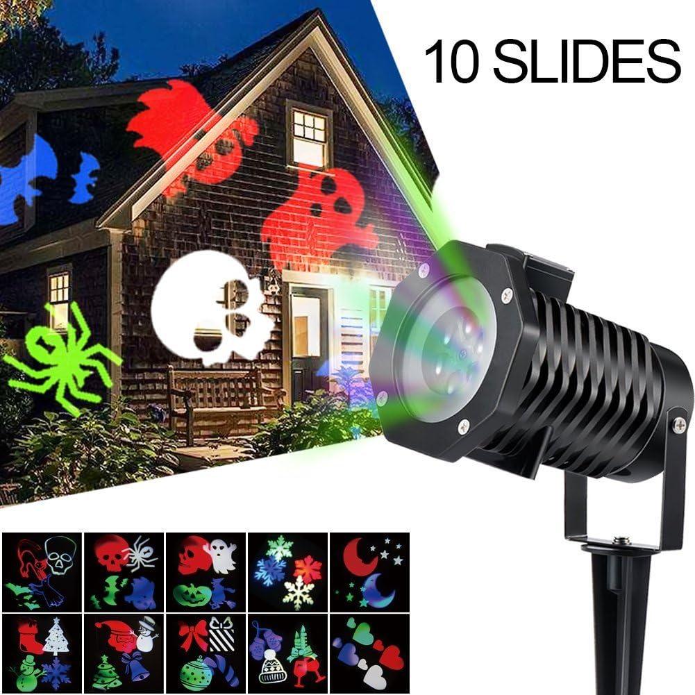 Proyector LED de luz, ALED LIGHT proyector de luz de Navidad al ...