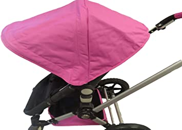 c7682aa67 Amazon.com  Pink Sun Shade Canopy with Wires and Under Seat Storage ...
