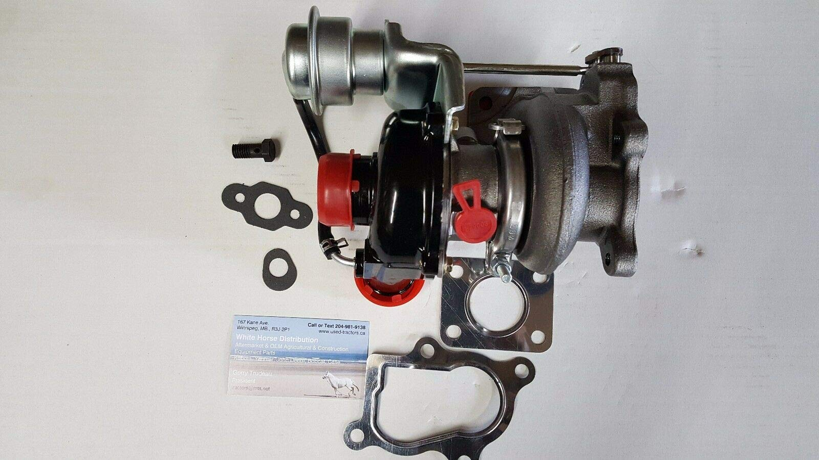 WHD New Turbo for Bobcat S205, 7020836, 6686048 NO CORE Charge &