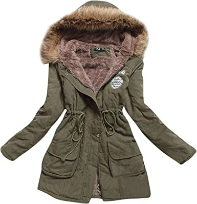 Fur Green Parka