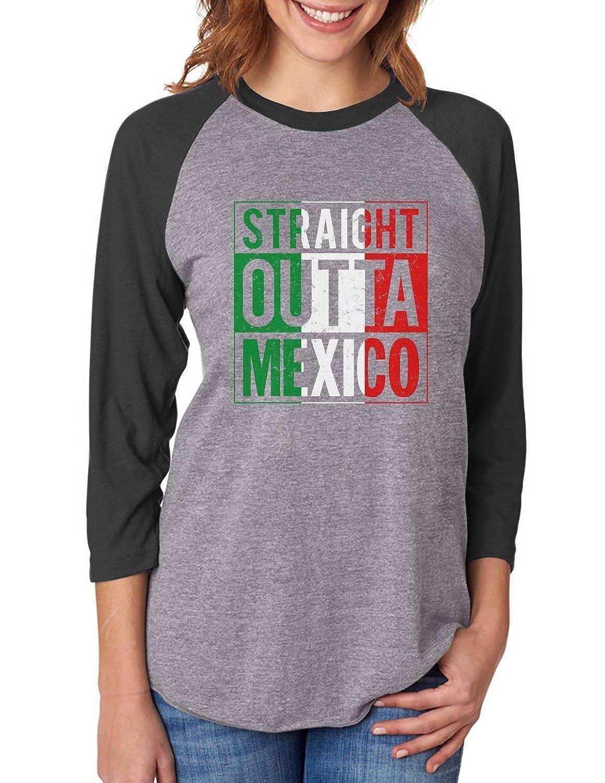 Mexican Flag Hoodie TeeStars Straight Outta Mexico